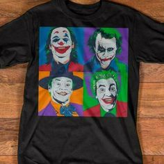 Funny Joker Dc Comics Villain T Shirt Black Cotton Men Us Suppli Math Shirts, 3d T Shirts, Funny Tshirts, T Shirts For Women, Joker T Shirt, Men Shirt, Joker Dc Comics, Funny Joker, Comic Villains