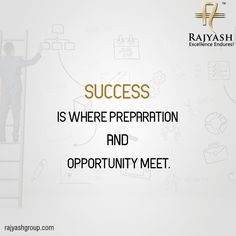 Work hard and learn from your mistakes. Be better today than you were yesterday. Success is not giving up; it is getting over failures and moving on. Success is what you're doing right now, every day.  #MotivationalMonday #RajyashCity #RajYashGroup #RajYash #SouthVasna #Ahmedabad