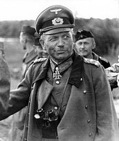 March 23, 1945: Guderian (photo) meets again with Himmler & again urges him to take matters into his own hands and sue for peace. He tells him: The war can no longer be won. The only problem now is finding the quickest way of putting an end to the senseless slaughter and bombing. Apart from Ribbentrop, you are the only man with contacts in foreign countries. Since the Foreign Minister is reluctant to open negotiations, you must go with me to Hitler and urge him to arrange an armistice.