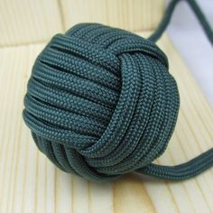 A tutorial on the monkey fist knot.