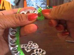 Cintillos, binchas o diademas en anillas de latas (taps)