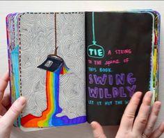 Le plus récent Coût -Gratuit Drawing sketbook Réflexions Art Journal Pages, Bullet Journal Ideas Pages, My Journal, Bullet Journal Inspiration, Wreck This Journal, Kalender Design, Kunstjournal Inspiration, Smash Book, Art Sketchbook