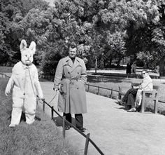 """just """"walking my rabbit"""" ~ a term he uses as double entendre"""