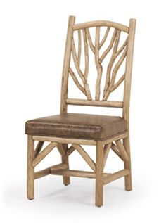 Rustic Side Chair #1400 by La Lune Collection