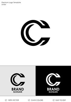 Letter C Logo Template 71279 is part of Letter logo design - Letter C Logo DesignYou can use it for many creative business companiesSupport work 24 hoursAll in CMYK color mode vector file fully editable Easy to edit Logo Branding, 2 Logo, Branding Design, Website Templates, Logo Templates, Logo Inspiration, Logo Minimalista, Circular Logo, Marketing Logo