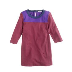 Girls' colorblock tunic - knits & tees - Girl's new arrivals - J.Crew