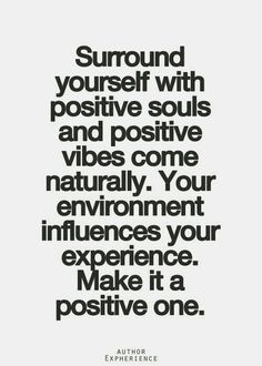 You Attract The Energy That Give Off Spread Good Vibes Think