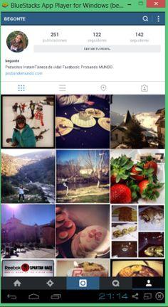 Instagram para PC #app #fotos #socialmedia #imagenes #interface