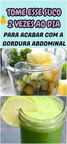 A bebida é perfeita para quem busca um emagrecimento rápido e saudável, que também ajuda no fortalecimento do sistema imunológico do corpo. #barriga #gordura #abdominal #elimine #suco #saude #saudavel #fruta #receita #receitinha #caseira