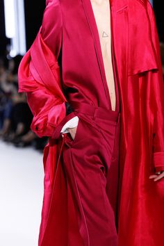 See detail photos for Haider Ackermann Spring 2017 Ready-to-Wear collection.