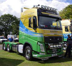 https://flic.kr/p/qNJ5na | WH Malcolm Construction Volvo FH R10WHM at Truckfest Scotland 2014 | Truckfest Scotland, Ingliston, August 2014