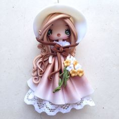 Petite nuance#fimo#fimoverajewels#pendant#polymerclay#kawaii#doll#handmade