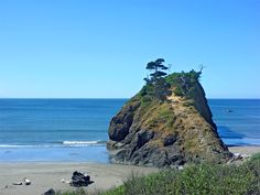 Port Orford is the oldest townsite on the Oregon coast, and has one of only a few dolly docks in the world (where boats get lifted out of the ocean onto a dock).