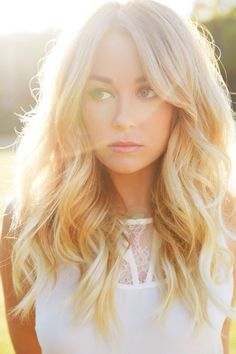 Lauren Conrad hair and makeup