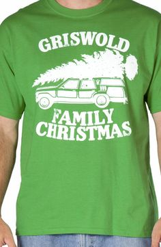 Green Griswold Family Christmas Shirt