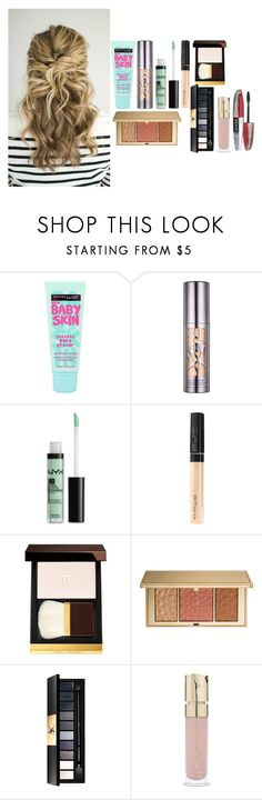 """""""businss make up 2017"""" by azra-99 on Polyvore featuring beauty, Maybelline, Urban Decay, NYX, Tom Ford, Estée Lauder, Yves Saint Laurent, Smith & Cult and L'Oréal Paris"""