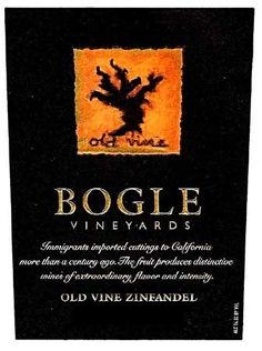 Bogle Old Vine Zinfandel