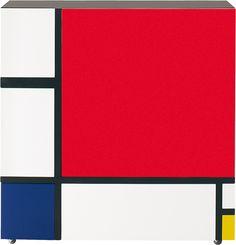 Homage to Mondrian, Shiro Kuramata for Cappellini.