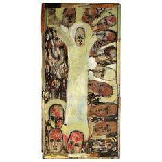 Purvis Young (1943-2010) | Untitled  (Father of the Peoples)