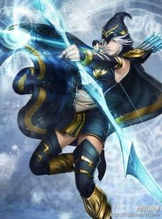 League of Legends Ashe, this is happening for Halloween this year. Ashe League Of Legends, Shoulder Armor, Halloween This Year, Warrior Girl, Cosplay Costumes, Cosplay Ideas, World Of Warcraft, Rogues, Overwatch