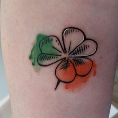 My new Ireland Shamrock Tattoo.