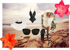 Beachy, created by niecey029 on Polyvore