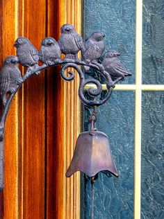 Birds and bell.