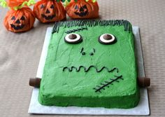 Frankenstein Cake Recipe
