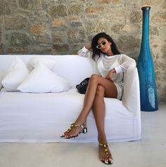 Shay Mitchell in Greece