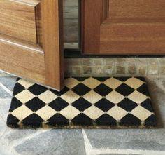 Checkerboard Doormat