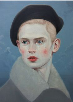 'Secrets Are The Things We Grow' -  Kris Knight paints a cast of characters who consciously conceal aspects of themselves from those around them | Canadian artist.