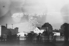 Found: Never-Developed Photos of Mount St. Helens Erupting: Photographer Kati Dimoff found the film at a Portland Goodwill.