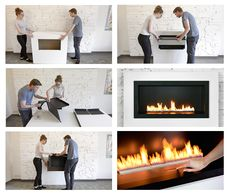Planika's collection of Push Button Fireplaces is a great solution for all #DIY lovers. These bio alcohol #fireplaces don't require technical service and permissions.   #doityourself #fireplace #planika www.planikafires.com www.facebook.com/planikafire
