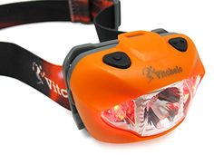 Brightest & Best LED Headlamp Flashlight w/ Red Lights for Night Running, Hunting, Fishing, Camping, Reading, Jogging, Walking - Waterproof, Long Battery Life (Included), Adjustable Beam, Durable, Lightweight, Easy to Use, Lifetime Warranty, 60 Days Money Back Guarantee + Free Bonus! (Orange) Vitchelo http://www.amazon.com/dp/B00PLG6FZM/ref=cm_sw_r_pi_dp_ZWwGvb1ZQTGY7