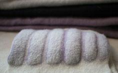 Prefelt - Maria Friese Experiments - Free Your Imagination - Dhg Felting Tutorials, Textiles, Handmade Felt, Wool Felt, Felted Wool, Crafts To Make, Paper Crafts, Shibori, Shape