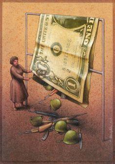 40 ilustrações críticas de Pawel Kuczynski - Espaço Ser Melhor - Ser Melhor
