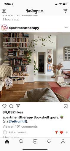 In Law House, Bookshelves, Shag Rug, Interior Design, Room, Home Decor, Shaggy Rug, Nest Design, Bedroom