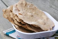 How to make homemade Norwegian flatbread. Great with jelly, cheese, butter, and other toppings!