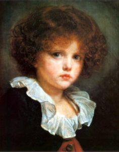 Boy In Red Waistcoat Jean Baptiste Greuze (1725 – 1805, French)