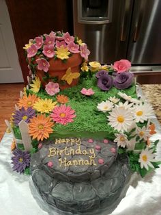 Cakes by Kimberly - flower garden
