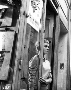 Jean Seberg #black and white #photography #1950's
