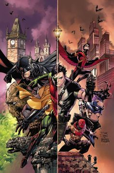 Batman and Robin Eternal by Tony Daniel *