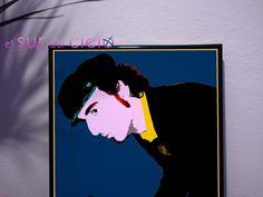 Algunos retratos convertidos en arte pop. Podemos hacer lo mismo con tus fotografías favoritas http://www.elsurdelcielo.com