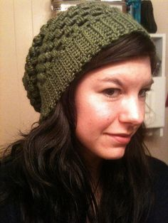 Crochet urban jungle slouch beanie