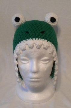 Crocheted dino hat by DBD