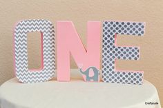 Elephant birthday, Elephant theme party Decoration, First Birthday Photo Prop, Elephant centerpiece, pink and gray party, First birthday