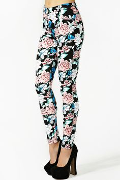 Jordan Skinny Jeans in Rose