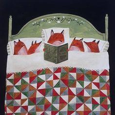 Little ritual before sleeping (Beatrix Potter fan club) 📖🦊 . Fuchs Illustration, Children's Book Illustration, Beatrix Potter, Art Fox, Art Folder, Reading Art, Cecile, Drawings, Instagram