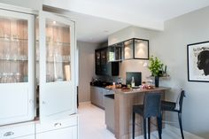 Mur en brique maison interieur pinterest cuisine for Cuisine style flamand