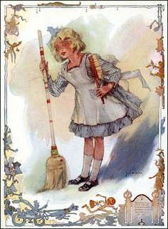 le mani nella marmellata: The Golden Age of illustration -  Dorothy in The Emerald City of Oz, illus. by John R. Neill